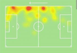 Genoa-Inter heatmap Moses