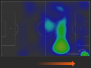 Inter-Fiorentina heatmap attacco