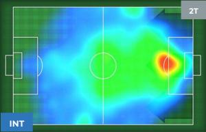 Inter-Napoli Heatmap 2T